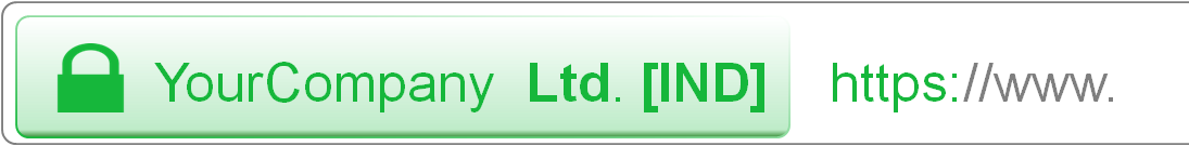 Green address bar - Premium (EV) SSL NexusLeader INDIA